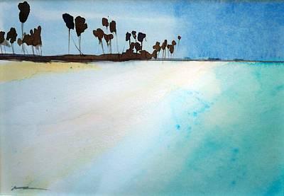 Maldives  Art Print by Ed  Heaton