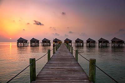 Photograph - Maldives Sunrise by Ian Good