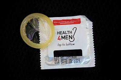 African Sex Photograph - Male Condoms In Africa by Ton Koene