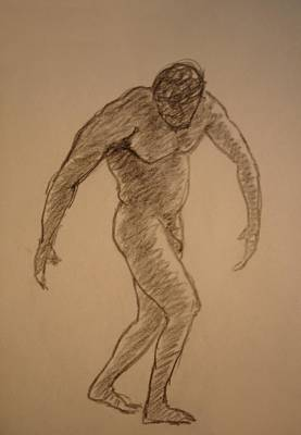 Natural Forces Drawing - Male Croquis by Genio GgXpress