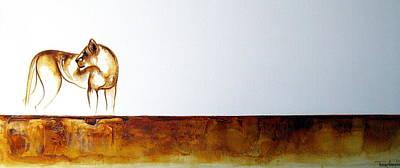 Lioness - Original Artwork Art Print