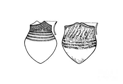 Ceramic Art - Malecite Pottery C.1890 by Art  MacKay