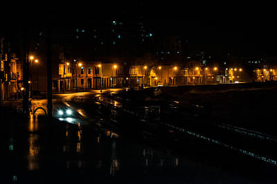 Photograph - Malecon At Night by Patrick Boening