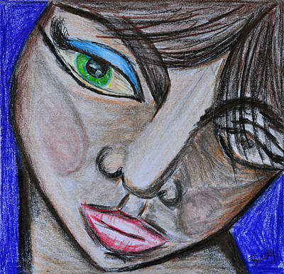 Emotion Mixed Media - Malevolence by Donna Blackhall