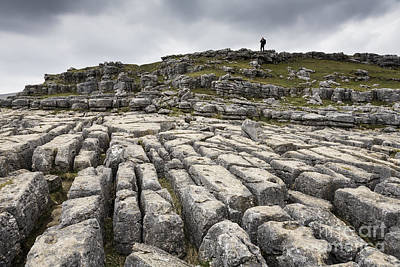 Photograph - Malham Cove Yorkshire Dales England by Colin and Linda McKie