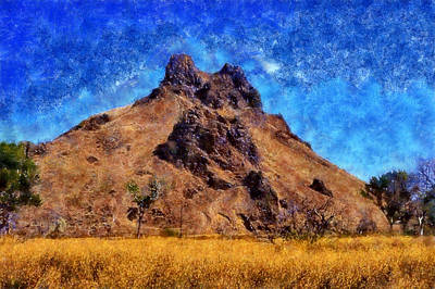 Digital Art - Malheur Butte by Kaylee Mason