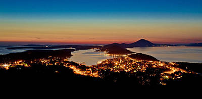 Photograph - Mali Losinj Croatia Panoramic View by Brch Photography