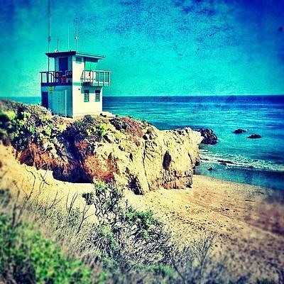 Sunny Photograph - Malibu by Jill Battaglia