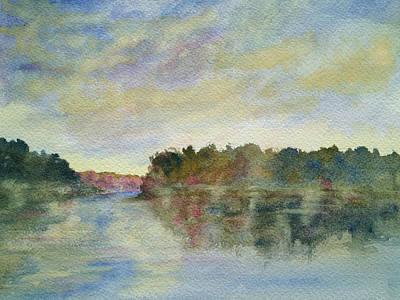 Painting - Malibu Lagoon Impressions by Jan Cipolla