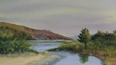 Painting - Malibu Lagoon Springtime by Jan Cipolla