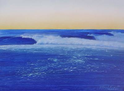 Painting - Malibu Sunrise by Mark  Leavitt