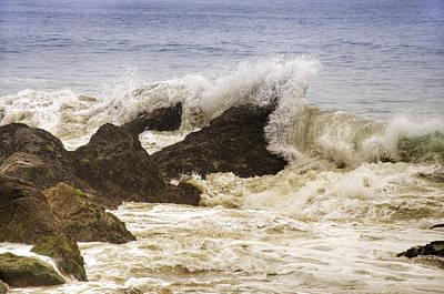 Point Dume Wall Art - Photograph - Malibu Waves by Ricky Barnard