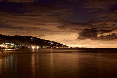Photograph - Malibu's Glow by Daniel Woodrum