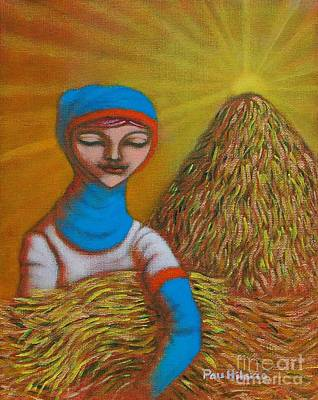 Rice Field Painting - Maligayang Ani II by Paul Hilario