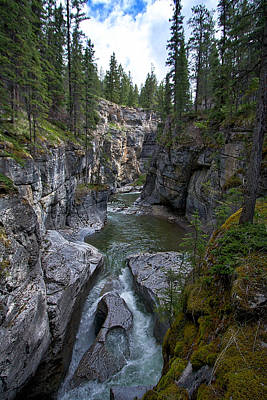 Photograph - Maligne Canyon #2 by Stuart Litoff