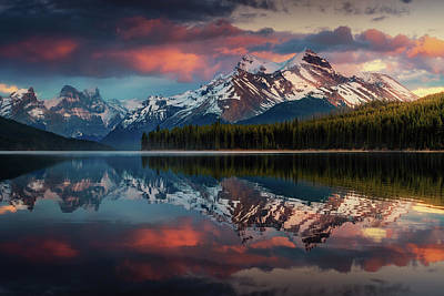 Banff Wall Art - Photograph - Maligne Color. by Juan Pablo De