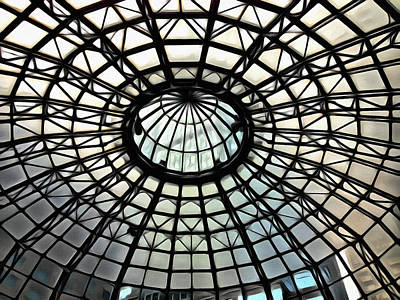 Photograph - Mall Dome Images by Alice Gipson