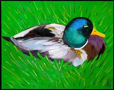 Wildwood Park Painting - Mallard by Jim Harris