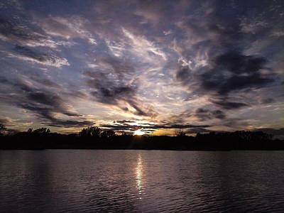 Photograph - Mallard Lake Sunset by Casey Tovey