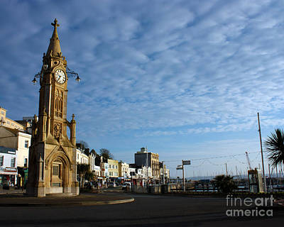 Photograph - Mallock Clock Tower Torquay by Terri Waters