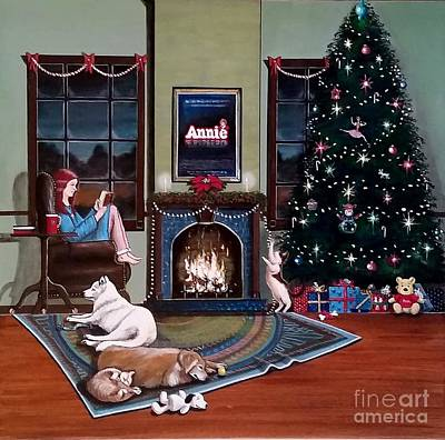 Mallory Christmas Art Print by John Lyes