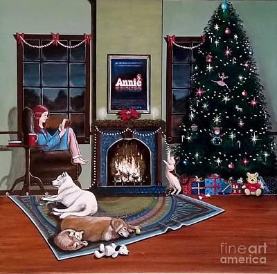 Mallory Christmas Art Print