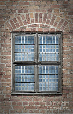 Malmo Photograph - Malmohus Window by Antony McAulay