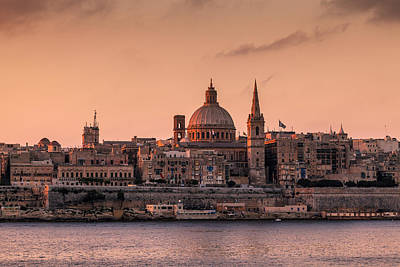 Valletta Photograph - Malta 01 by Tom Uhlenberg
