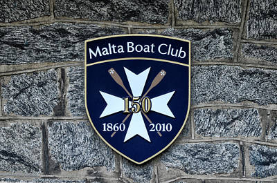 Boathouse Row Photograph - Malta Boat Club by Bill Cannon