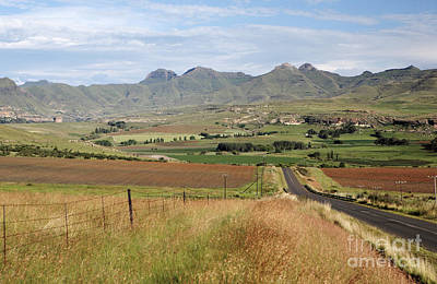 Lesotho Photograph - Maluti Mountains by Neil Overy