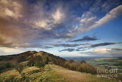 Malvern Hills Art Print by Rod McLean