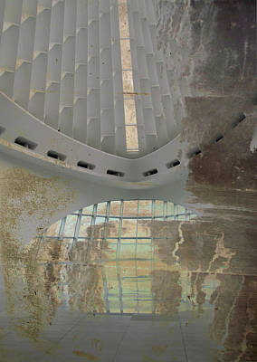 Digital Art - Mam Interior And Concrete 1 by Anita Burgermeister