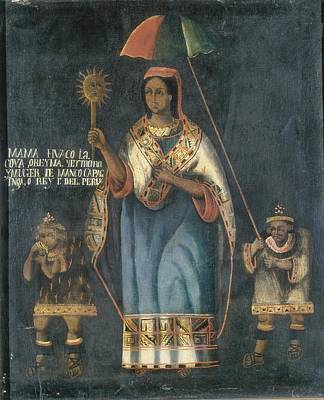 Mama Huaco, One Of Four Sisters Art Print