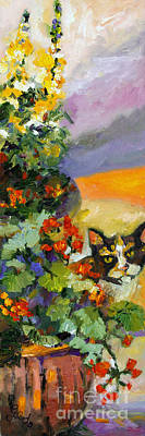 Painting - Mama In The Garden  by Ginette Callaway