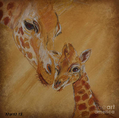 Mama Watches Art Print