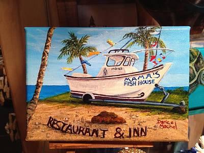 Painting - Mama's Fish House by Darice Machel McGuire