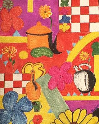 Painting - Mamas Kitchen by Lew Griffin