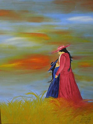 Painting - Mama's Love by Randolph Gatling