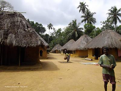 Mamboima Village Art Print