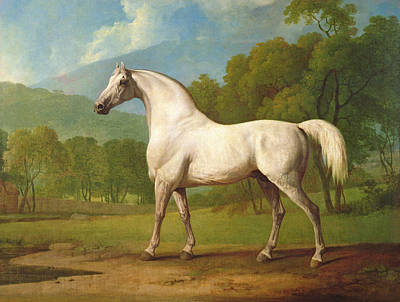 Turf Painting - Mambrino by George Stubbs