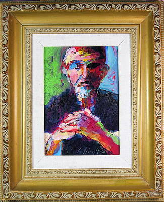 Painting - Mamet by Les Leffingwell