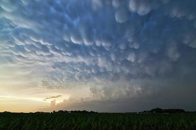 Mammatus Photograph - Mammatus Clouds by Roger Hill
