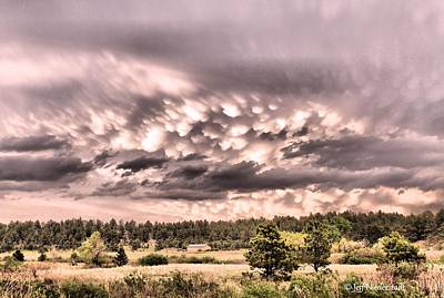 Photograph - Mammatus by Jeff Niederstadt
