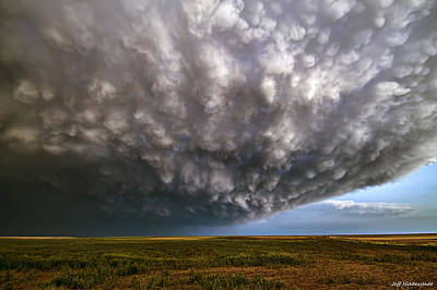 Photograph - Mammatus Mothership by Jeff Niederstadt