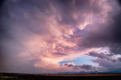 Bo Insogna Photograph - Mammatus Over Boulder Colorado by James BO  Insogna