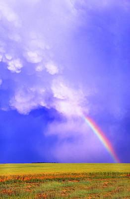 Photograph - Mammatus Rainbow Of New Mexico by Jason Politte