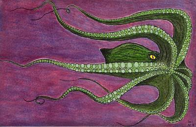 Mammon Art Print by Sean Mitchell