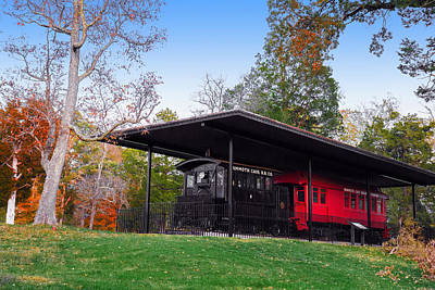 Photograph - Mammoth Cave Train by Mary Almond