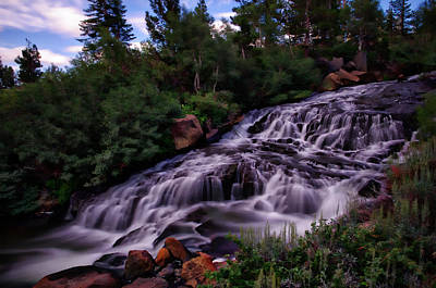 Mammoth Lakes Photograph - Mammoth Creek Falls by Scott McGuire