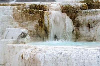 Mammoth Hot Springs Original by Deby Dixon
